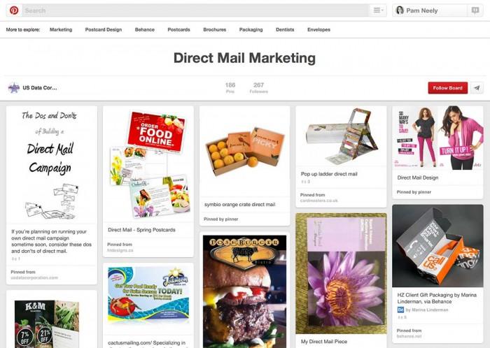 DirectMailBoard
