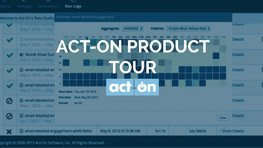 Act-On Product Tour