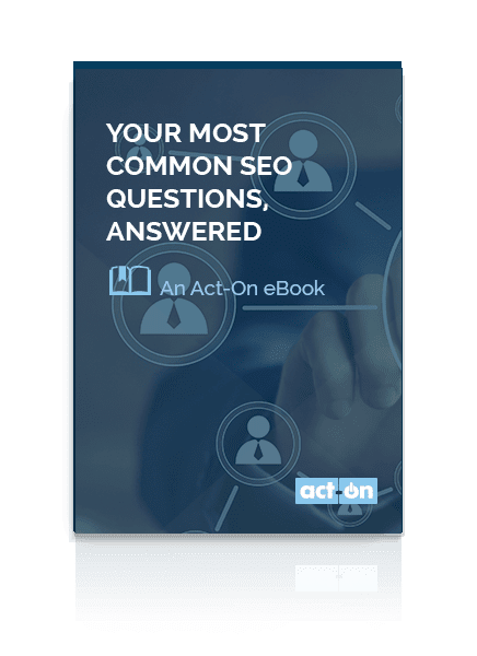 eBook: Your Most Common SEO Questions Answered