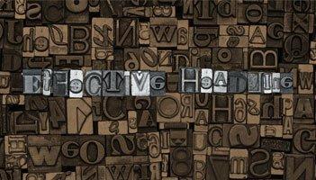 Back to Basics: How to Write an Effective Headline